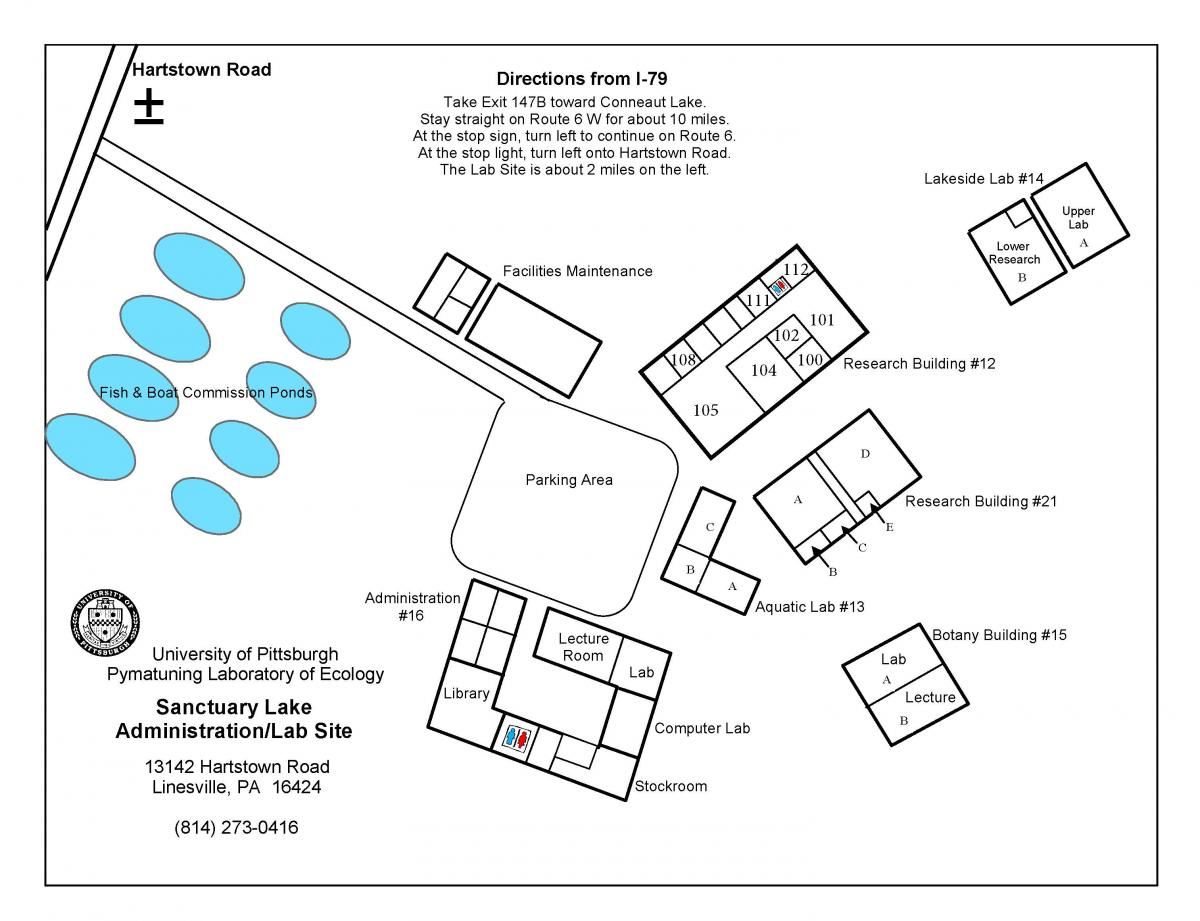 Sanctuary Site Map